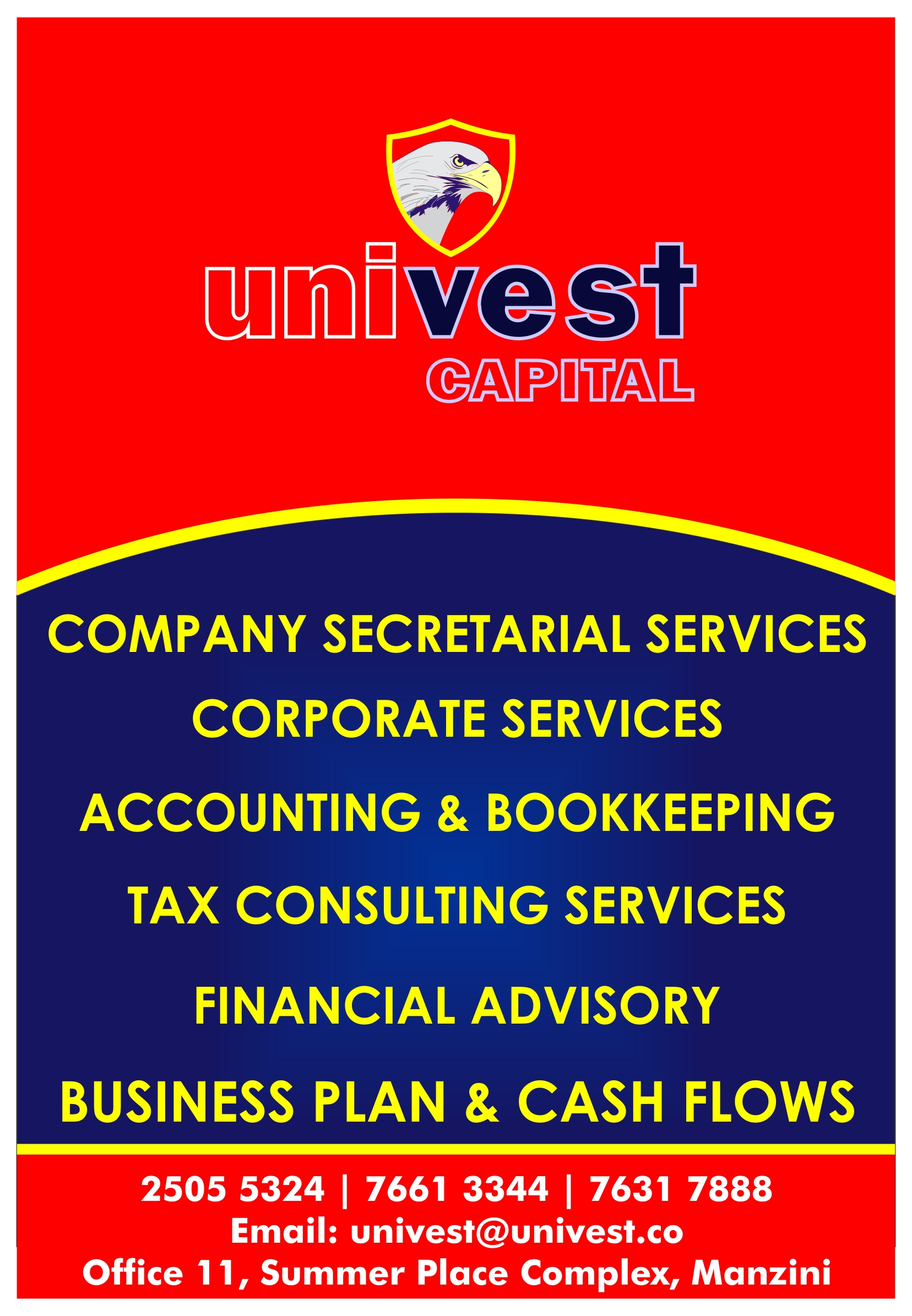 Univest Monthly Accounting Services P2